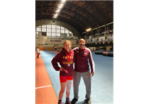 Zoe Crecos '21 Qualifies for National Wrestling Championship