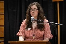Courtney Carreira '19, the 2019 Michael Rebarchak '79 Memorial Award Recipient