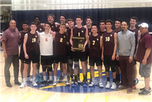 Boys' Volleyball Wins Regional Championship