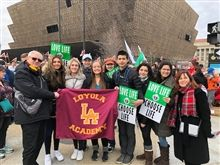 Ramblers March for Life in Washington, DC