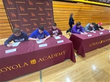 Athletic Letter of Intent February Signing Ceremony