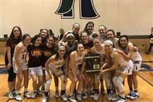 Girls' Basketball Closes Season as Regional Championships