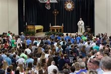 Parent and Freshman Mass and Reception