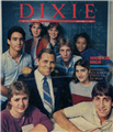 The cover of DIXIE Magazine, December 1983.