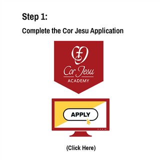 Complete the Cor Jesu Application