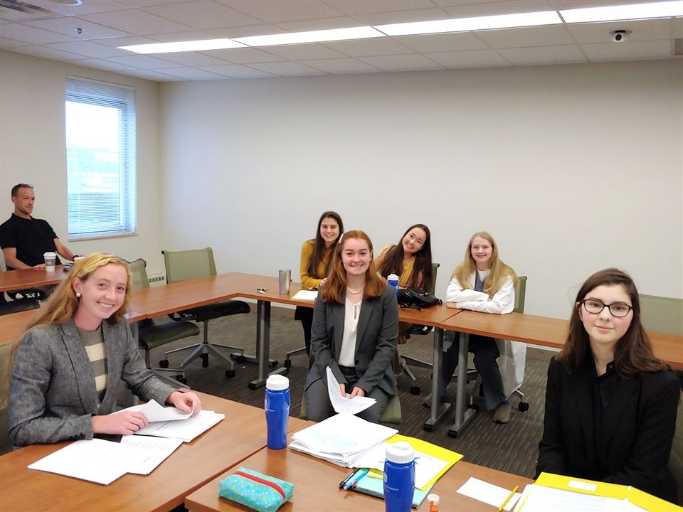 Cor Jesu's Mock Trial Team competes at the Show Me Inivitational