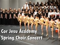 On May 3rd, Cor Jesu Academy's choirs performed at their Spring concert to the theme of This is Me.