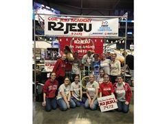 Team R2 JESU at the FIRST Robotics Competition