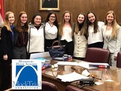 Cor Jesu's Mock Trial Team