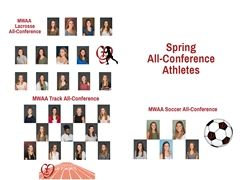 Cor Jesu Spring All-Conference Athletes