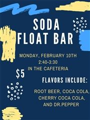 Soda Float Bar