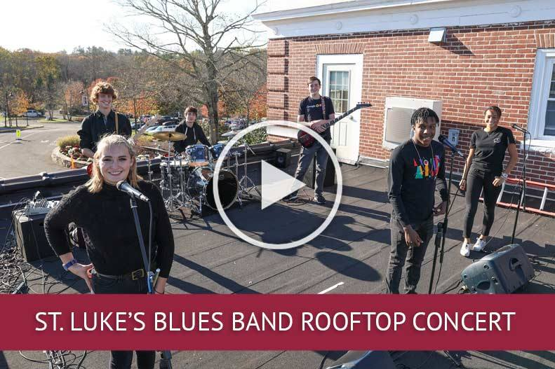 How Blues Band Blew the Roof Off St. Luke's School