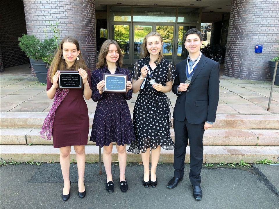 St Luke S Debate Team Excels At Yale Invitational