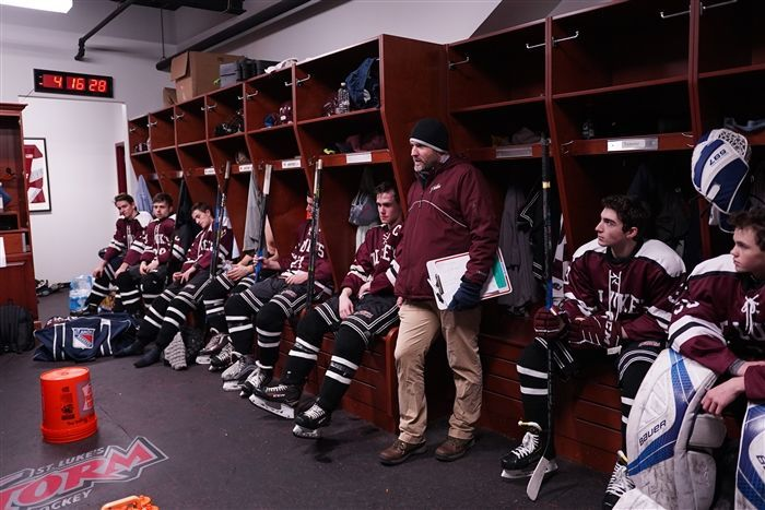 St. Luke's Hockey has a full suite at Sono Ice House thanks to the generosity of a St. Luke's family