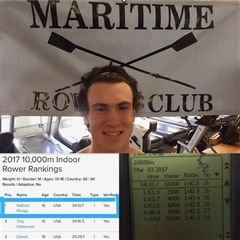 Nate Phelps '18 is the U-17 10,000m World Record holder