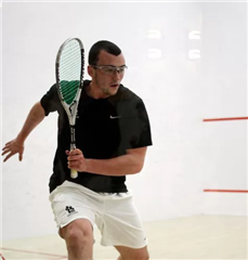 Chris Hanson won his first U.S. National Squash title.