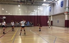 St. Luke's Volleyball enjoyed a 3-1 at Hopkins in the season opener.