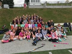 The entire St. Luke's Field Hockey program raised money for The National Foundation for Cancer Research