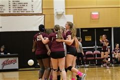 Varsity Volleyball hosts Wooster School in the NEPSAC Quarterfinal
