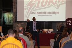 St. Luke's Head Football Coach Noel Thomas speaking about the player safety