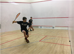 Toby Bloch '23 won all four of his matches at National for St. Luke's Boys Varsity Squash