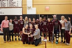 Girls Varsity Basketball won the FAA Tournament Championship for the third straight season