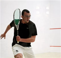 Chris Hanson '09 won back-to-back National Squash Titles