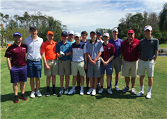 The St. Luke's Golf team traveled to Florida for Spring training