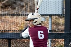 Maya Klein '18 scored a walk-off home run to give St. Luke's Softball a 7-6 win over Cheshire Academy