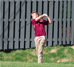St. Luke's Jack Maguire '19 has finished as the medalist in each of the three matches so far this season