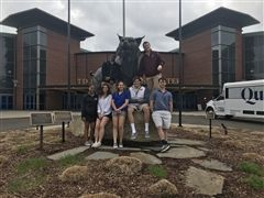 The St. Luke's Sports Medicine Class visited Quinnipiac University