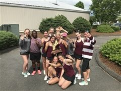 St. Luke's Girls Tennis won its third straight NEPSAC Title
