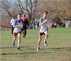The St. Luke's Cross Country team had a number of runners break their personal bests in the FAA meet this week