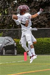 St. Luke's Varsity Football team moved to 5-2 for the season with a 14-12 win of Capital Prep