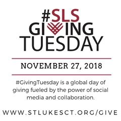 Celebrate #SLSGivingTuesday with a gift to St. Luke's today!
