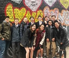St. Luke's Model UN team hits the streets of Manhattan.
