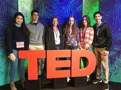 St. Luke's attending the invitation-only TED-Ed weekend in NYC