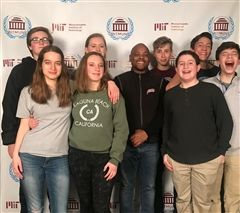 St. Luke's Model UN team at MIT conference