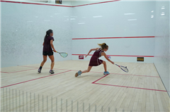 Claire Pellegrino '24 had an outstanding first year with Girls Varsity Squash
