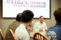 St. Luke's Center for Leadership's Lunch and Lead with Mohan Peck