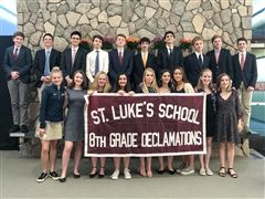 St. Luke's 8th Grade Declamations