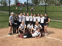 St. Luke's Varsity Softball won both the FAA and WNEPSA championships