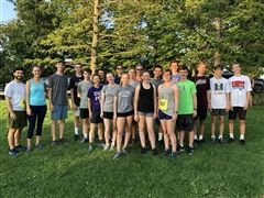 The St. Luke's Cross Country team has record numbers this fall