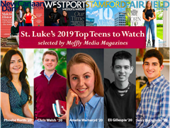 Five St. Luke's students selected as 2019 Top Teens to Watch
