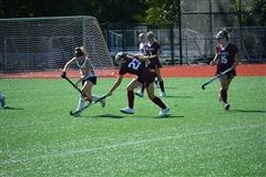 St. Luke's Varsity Field Hockey beat Wilbraham & Monson Academy 2-0