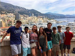 A previous St. Luke's trip to the south of France