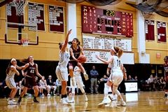 St. Luke's Girls Varsity Basketball is the number one seed for the FAA Tournament