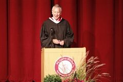 St. Luke's Head of School, Mark Davis at 91st Commencement