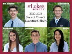 St. Luke's 2020-2021 US Student Council Executive Officers