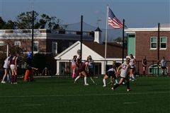 The St. Luke's Field Hockey team travel to Greens Farms Academy for the first game of the season on Saturday, October 3